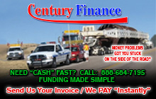 Century Finance advertisement